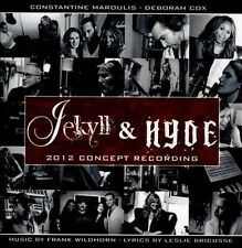Audio CD Jekyll & Hyde 2012 Concept Recording - Frank Wildhorn - Free Shipping