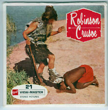 VIEW-MASTER - B 438 BELGIUM - ROBINSON CRUSOE | Buy 3 or More For Free Shipping