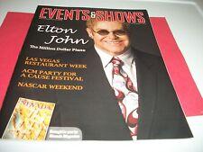 Elton John Events & Shows Magazine Las Vegas