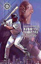 2002  Mike Cameron  Seattle Mariners Original Starline Poster OOP