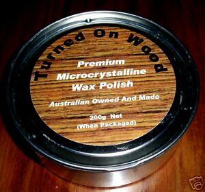 WOOD TURNING PREMIUM MICROCRYSTALLINE WAX POLISH