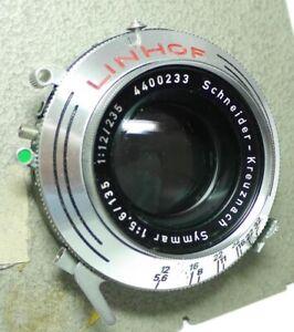 Schneider Symmar 5,6/135 mit Linhof verschluss An-Verkauf ff-shop24