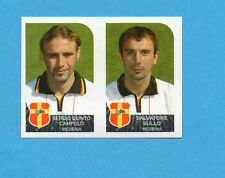 PANINI CALCIATORI 2002-03- Figurina n.532- CAMPOLO+SULLO - MESSINA -NEW