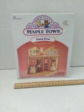 Vintage New Maple Town Dining Room Furniture Set 7146 Tonka Sylvanian Cupboard