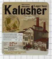 UKRAINE Brewery Kalush KALUSHER car beer label C2218 021