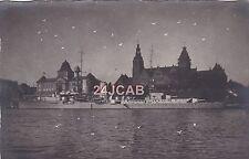 """Reichsmarine Real Photo Postcard. """"Emden"""" Cruiser. WW11. Very Rare! 1926"""