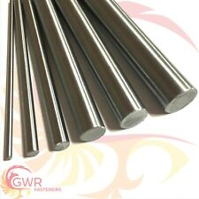 Imperial Silver Steel Round Bar - Round Ground Shaft Rod Various sizes & lengths