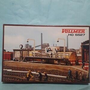 VOLLMER 45527   H0 kit -  Oil Loading Platform