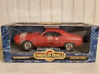 Ertl American Muscle 1970 Dodge Challenger R/T 1:18 Scale Diecast Model Car Red