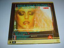 "SIGUE SIGUE SPUTNIK - 21st Century Boy UK 1986 Parlophone 7"" poster sleeve"