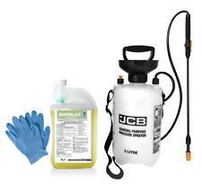 More details for rootblast glyphosate 360g/l 1l weedkiller with jcb 5l pump sprayer 2 x gloves