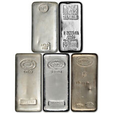 1 Kg Silver Bullion Bars Amp Rounds Ebay