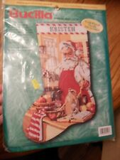 Bucilla A Pinch of Cheer Stocking Counted Cross Stitch Kit
