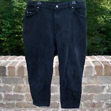 "Jeans - Lee - black - size 16W medium - inseam 30"" - Women's plus"