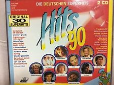 Hits '90-Deutsch (BMG/Ariola) Matthias Reim, Nena, Frank Zander, GG And.. [2 CD]