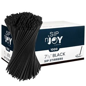 Coffee Stirrers Sticks, Disposable Plastic Drink Stirrer Sticks, 1000 Stirrer...
