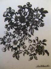 La Blanche   silicone Stamp *Apple Blossom*