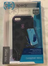 iPhone 5/5S INKED Candy Shell Phone Case By Speck NIB NEW Shock Protection