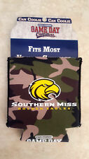 Southern Miss Golden Eagles Coolie Can Koozie Camo Camouflage Mississippi New