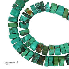 """16"""" Chinese Turquoise Heishi Rondelle Beads ap. 9mm #82218"""