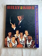 1995-96 Texas Christian Horned Frog Basketball Program Media Guide N 1