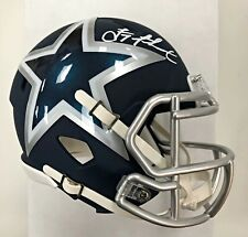 TROY AIKMAN SIGNED DALLAS COWBOYS AMP MINI HELMET BECKETT WITNESSED COA