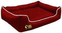 Dog Doza Waterproof Dreamer Settee Orthopaedic Memory Foam Sofa Bed GB (S-XXL)