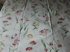 Vintage Sanderson Butterfly Garden Curtain Fabric 135cm x 2.5 Metres, 2002