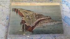Helgoland Kriegshafen Totalansicht AK Postkarte 5992