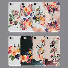 Flores Floral Shabby Chic Otoño Funda de Teléfono para iPhone 7 8 XS XR Samsung S8 S9