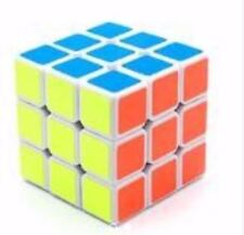 Rubik's Cube Brain Teasers Speed Stickerless Magic Cube 3x3 Puzzles NO.678 (Whit