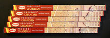 40 Sticks 5x 8g Boxes Precious CHANDAN Sandalwood Blend Incense Insence Bulk HEM
