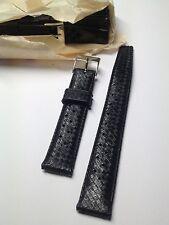 Bracelet tropic en caoutchouc  noir  lip nautic ski 18mm. (17,5)