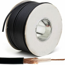 25M RG58U Pure Copper Coaxial Coax Cable -50 Ohm OFC SMA WiFi Router DAB Radio