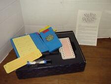 Complete Vintage 1992 Hersch NAMEBURST Board Game Memory Jogging Name Calling