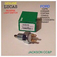 LUCAS SMB458 FORD 6033136 REVERSE LIGHT SWITCH CAPRI,CORTINA,CONSUL,SIERRA XR4I