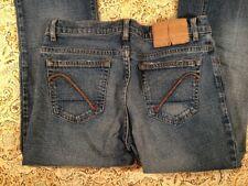 Guess Jeans Womens Designer Blue jeans Size 27 Stretch Boot Cut Cute Western