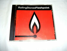 The Rolling Stones - Flashpoint 1991 USA CD Recorded Live 1989-1990 Tour