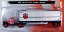 Classic Metal Works 1/87 HO 1941 / 1946 Chevy Tractor Trailer AT Transport 31165