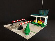 Lego 4532 City Trains 9V Manual Level Crossing System Eisenbahn Bahnübergang