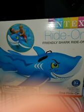 Intex 56567 Friendly Shark Inflatable Ride On Float