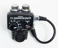 New listing Rare Sea & Sea Flash TTL Convertor 250 N for Nikon