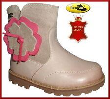 Baby-Schuhe im Stiefel- & Boots-Stil aus Leder mit Reißverschluss
