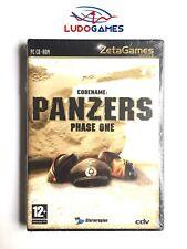 Codename Panzers Phase One PAL/SPA Precintado Sealed Brand New PC
