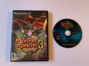 Monster Rancher 3 (Sony PlayStation 2 PS2, 2001) ** NO MANUAL **