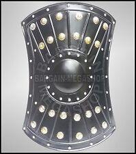 "18"" Medieval Barbarian Re-enactment Templar Viking Iron Shield"