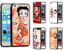 Betty Boop Phone Case Cover Comic Cartoon Girl For iPhone 8/7 6s Plus 5 5c 4 SE