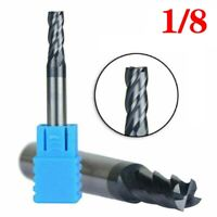 5pcs 6mm X 50mm Tungsten Carbide 4 Flute End Mill CNC Milling Cutter HRC50 TIALN