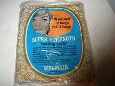 New Nos Vintage Welmaid Ironing Super Strength Ironing Cover Orange
