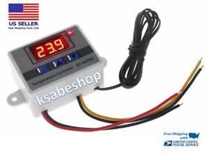 110 220V Pro W3002 Digital Temperature LED Thermostat Regulator Switch Tester